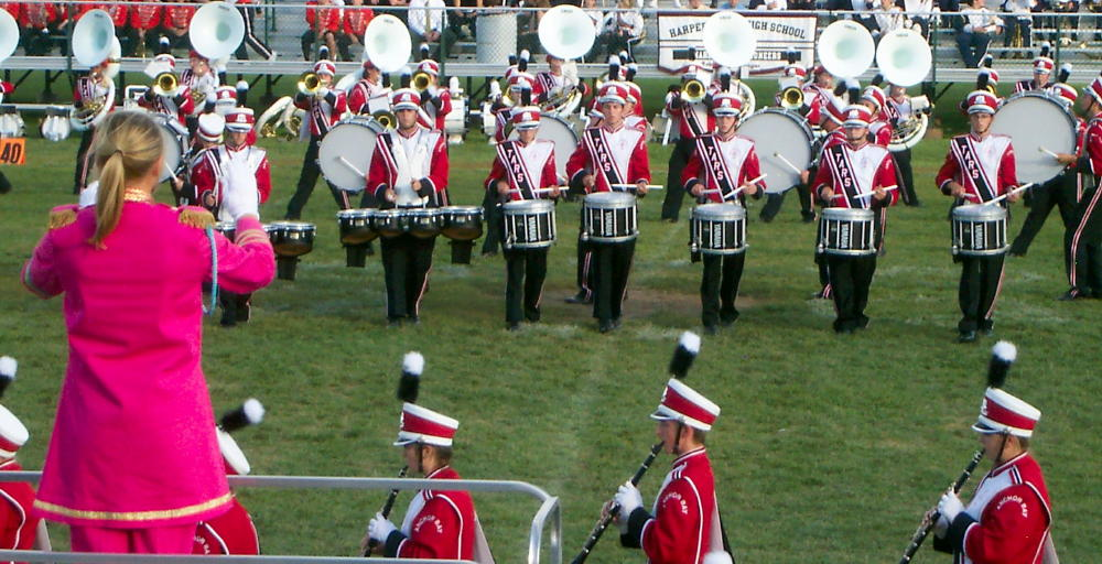 ABHS MARCHING TARS DRUMLINE WORKSHOPS AND PLACEMENTS 2018